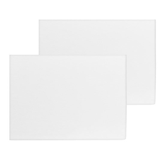 Saxnäs Home Fitted Sheet 40x90+15 cm 2-pack White