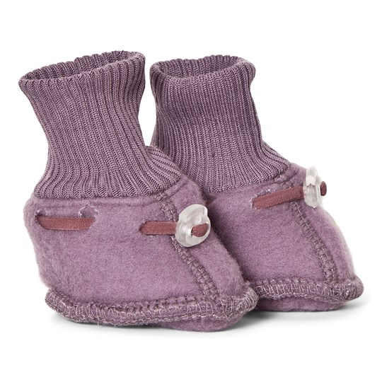 Mikk-Line Wool Baby Footies Flint Flint