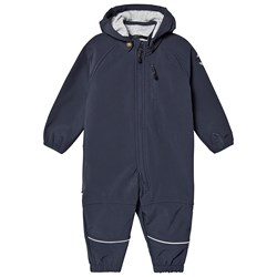 Mikk-Line Soft Shell Suit Blue Nights