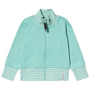 Image of Geggamoja Zip Sweater Green 134/140 cm (3138210457)