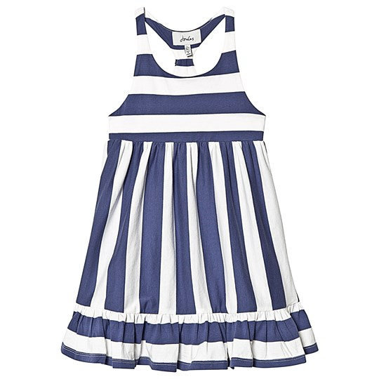dc4bcc0e9454 Tom Joule - Juno Peplum Midi Dress Cream Blue Stripe - Babyshop.com