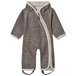 Image of Isbjörn Of Sweden Wooly Onesie Chestnut 56/62 cm (1308701)