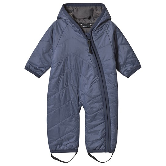 Isbjörn Of Sweden Frost Light Weight Baby Jumpsuit Denim Denim