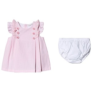 Image of Dr Kid Gingham Dress Pink 1 month (3138206477)
