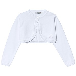 Image of Dr Kid White Knitted Cardigan 1 month (1249511)