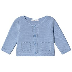 Dr Kid Pale Blue Knitted Cardigan