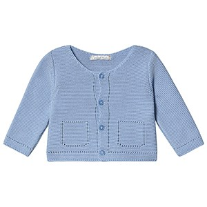 Image of Dr Kid Knitted Cardigan Pale Blue 1 month (3138206549)