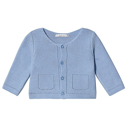Dr Kid Pale Blue Knitted Cardigan 080