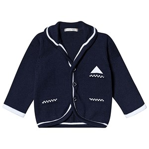 Image of Dr Kid Navy Knitted Blazer 3 months (3138206559)