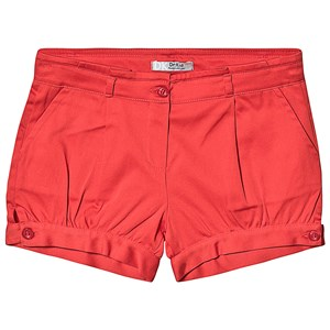 Image of Dr Kid Red Cotton Shorts 24 months (1249614)