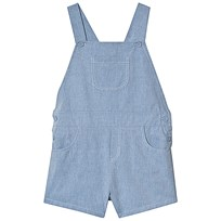 c35d0749ed50 Dr Kid Light Blue Chambray Dungaree Shorts 080