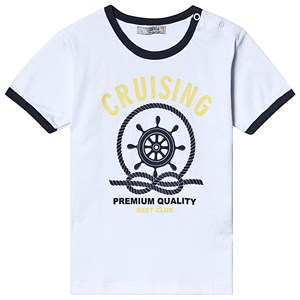 Image of Dr Kid Anchor Print Tee White 12 months (3138207647)