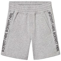 4487c05aaeb Neil Barrett Logo Sweat Shorts Grey 101