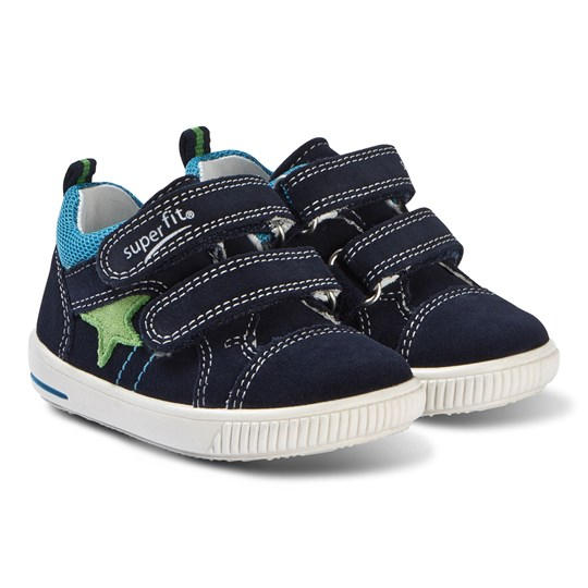 Superfit Moppy Sneakers Marinblå BLUE/BLUE