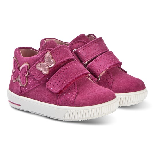 Superfit Butterfly Moppy Sneakers Rosa Red