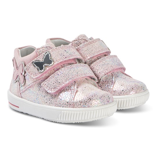 Superfit Moppy Sneakers Rosa Shimmer Pink