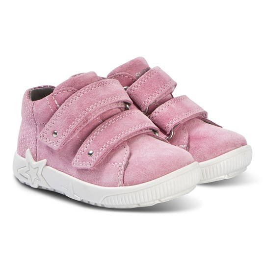 Superfit Starlight Velcro Sneakers Rosa Pink