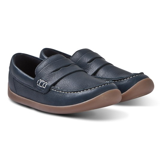Clarks Artist Stride Loafers Navy Leather NAVY LEATHER