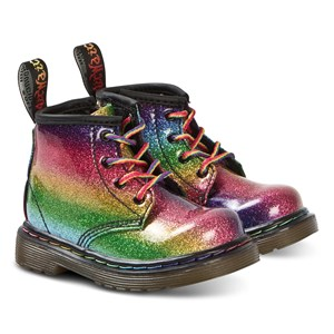 Image of Dr. Martens 1460 Glitter Ombre Boots Rainbow 20 (UK 4) (3138206639)