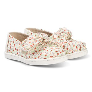 Image of Toms Bow Tiny TOMS Classics Birch Local Floral Print 21 (UK 4) (3138206725)