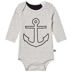 The BRAND Anchor Baby Body Grey Melange