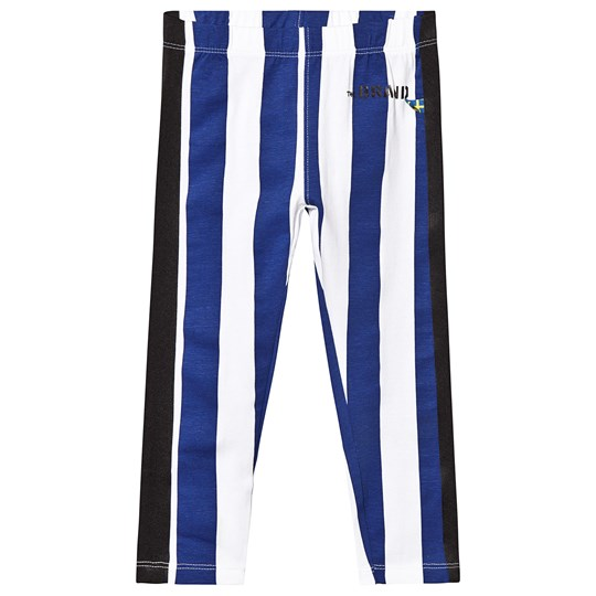 The BRAND TIGHTS BLUE STRIPE