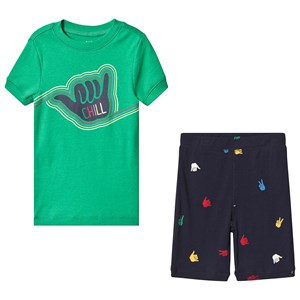 Image of GAP Short Pajamas Gallant Green 4 år (3138211309)