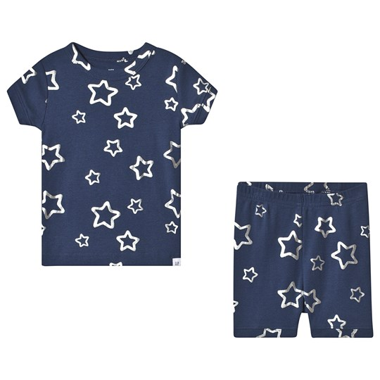 Gap Stars Kort Pyjamas Dark Night NAVY UNIFORM