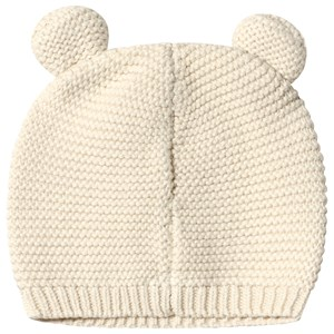 Image of GAP Bear Garter Beanie French Vanilla 3-6 mdr (3138208229)