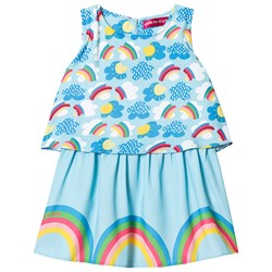 Agatha Ruiz de la Prada Rainbow and Clouds Klänning Blå