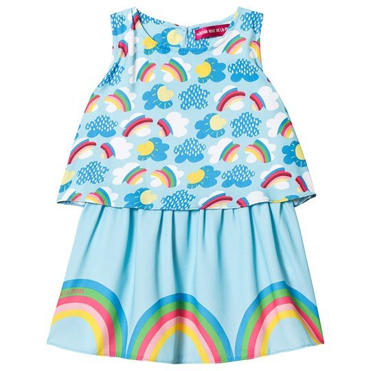 Agatha Ruiz de la Prada Rainbow and Clouds Klänning Blå Blue