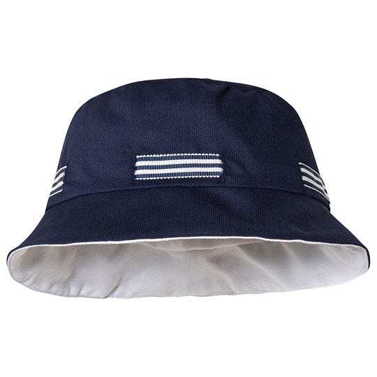 Dr Kid Stripe Sun Hat Navy 280