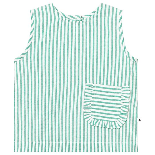 Molo Shirts SS Rosalle Green Stripe Green stripe