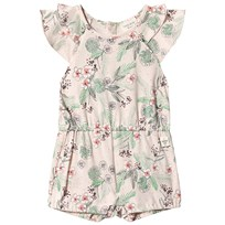 71bf51102 Carrément Beau Multi Floral Print Romper with Ruffle Sleeves 45B