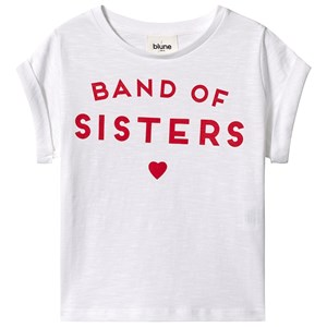 Image of Blune Band Of Sisters Tee White 2 år (3139024125)