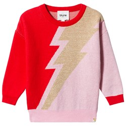Blune Ziggy Sweater Fraise/Lurex