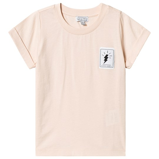 Civiliants Basic Tee Cream Tan Cream Tan