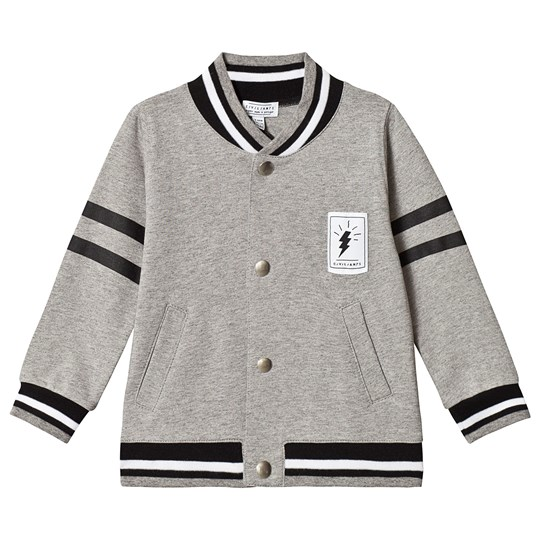 Civiliants Baseball Jacket Grey Melange Grey Melange