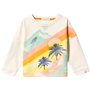 Image of Billybandit Artwork Paradise Sweatshirt Off White 10 years (3139023005)