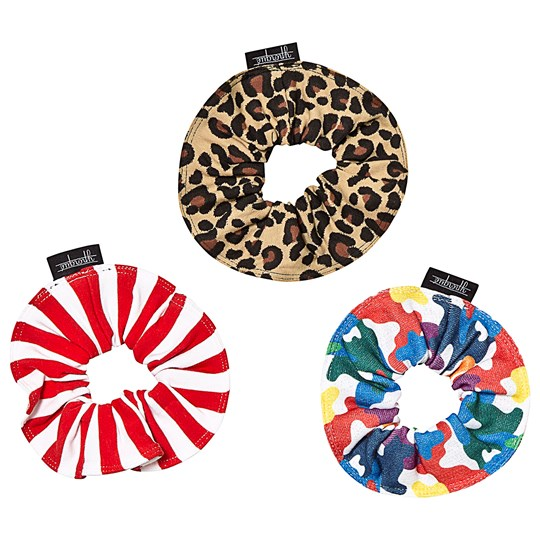 Yporqué 3-pack Scrunchies Multi