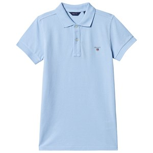 Image of GANT Branded Polo Blue 122-128cm (7-8 years) (3139758231)