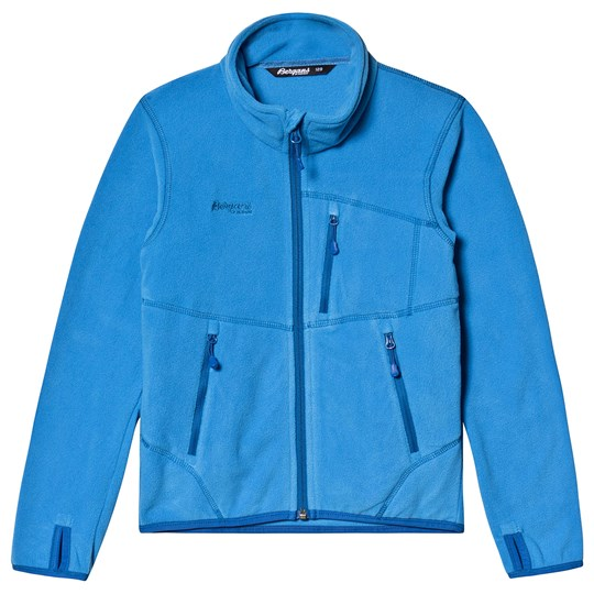 Bergans Runde Youth Jakke Cloud Blue Cloud Blue/Classic Blue