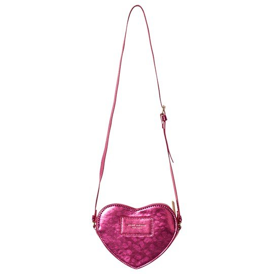 Little Marc Jacobs Branded Heart Väska Rosa A43
