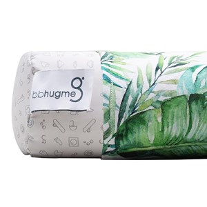Image of bbhugme Nursing Pillow Cover Green Leaf (3139761593)