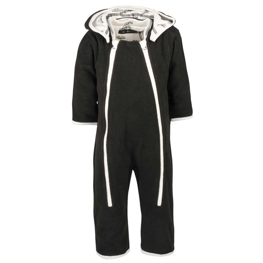 Mom2Mom Baby Overall Soft Black Black