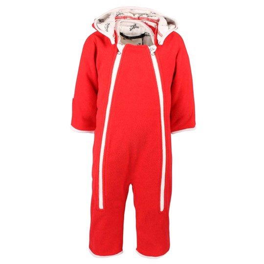 Mom2Mom Baby Overall Soft Red Red