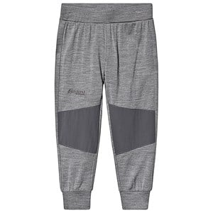 Image of Bergans Myske Wool Pants Grey/Dark Grey 122 cm (6-7 år) (3140444249)
