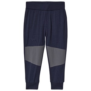 Image of Bergans Myske Wool Pants Navy/Dark Grey 104 cm (3-4 år) (3140444227)
