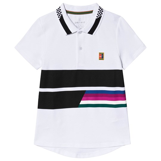 NIKE White Nike Court Advantage Polo 100