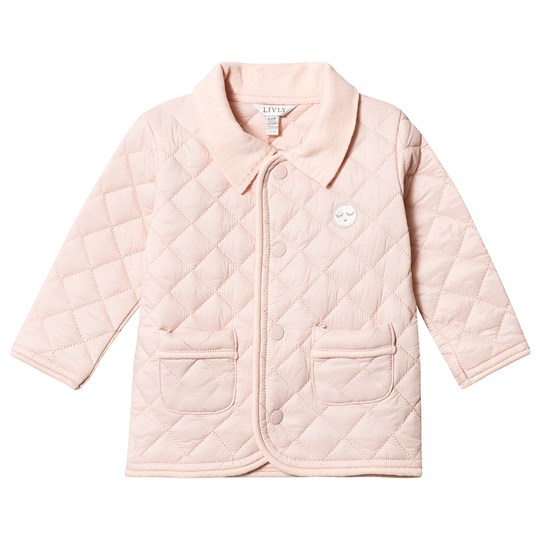 Livly Quilted Jacket Pink Pink